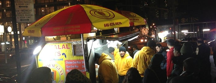 The Halal Guys is one of Manhattan Essentials.