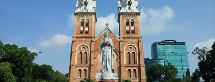 Saigon Notre-Dame Basilica is one of Favorite Places Around the World.