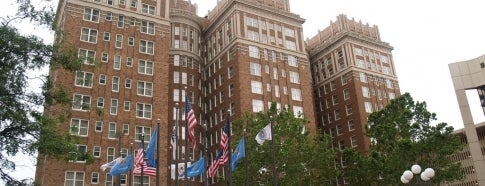 The Skirvin Hilton Oklahoma City is one of Oklahoma City's Best!  #visitUS.
