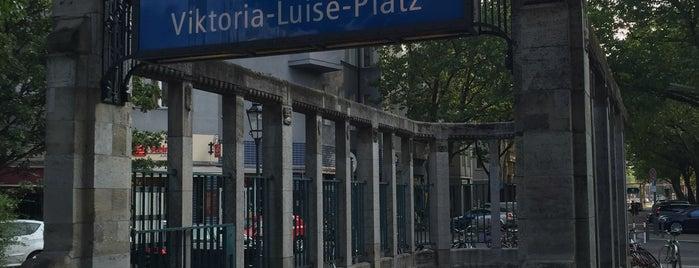 U Viktoria-Luise-Platz is one of U-Bahn Berlin.