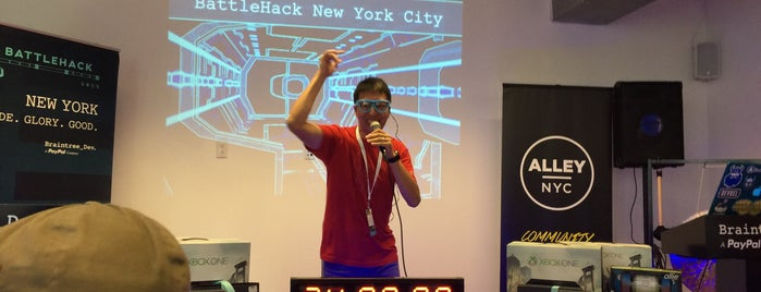 AlleyNYC is one of Awesome NYC Startups.