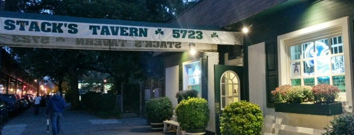 Stack's Tavern is one of 50 Best Dive Bars.