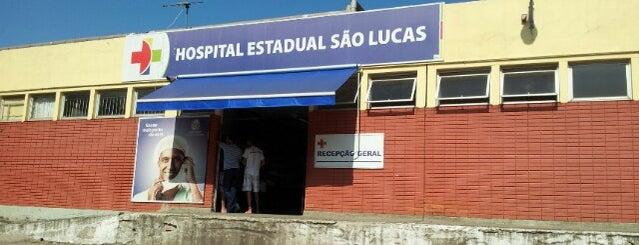 Hospital São Lucas is one of Hospitais.