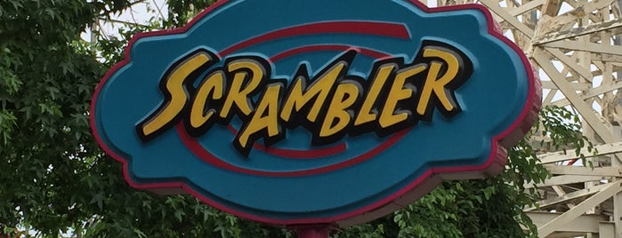 The Scrambler is one of Favorite Arts & Entertainment.