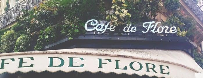 Café de Flore is one of Paris, FR.