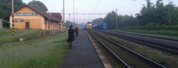 Železniční stanice Hradec Králové–Slezské předměstí is one of Železniční stanice ČR: H (3/14).