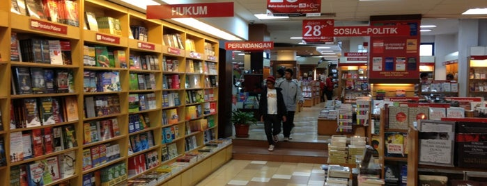 Gramedia is one of Top 10 favorites places in Bandung, Indonesia.