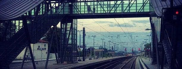 Neustadt (Weinstr) Hauptbahnhof is one of Ausgewählte Bahnhöfe.