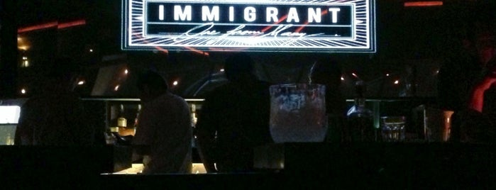 """Immigrant is one of The most """"hits"""" night clubs in Jakarta."""