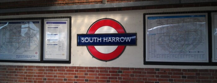 South Harrow London Underground Station is one of Tube Challenge.