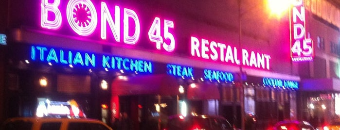 Bond 45 is one of Must-visit Food in New York.