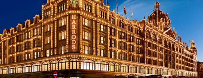 Harrods is one of 5 days in London.