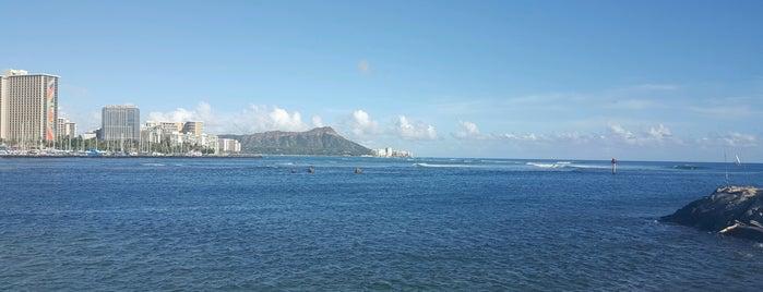 Ala Moana Bowls is one of Favorites, Waikiki.