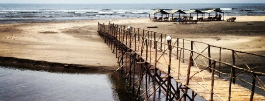 Mandrem Beach is one of India places to visit.