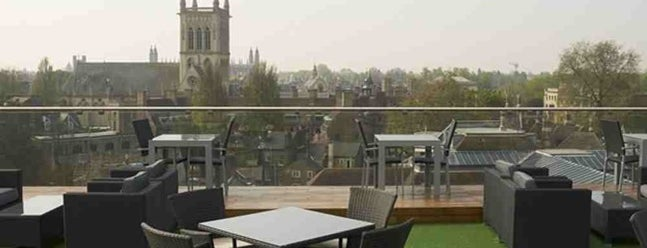 The Varsity Hotel Roof Terrace is one of Awesome places to eat world wide.