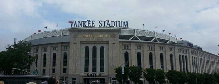 Yankee Stadium is one of My favorite NYC spots.
