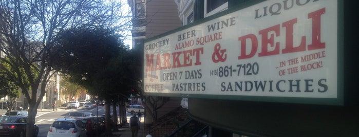 Alamo Square Market & Deli is one of nancy.