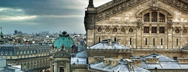 Terrasse des Galeries Lafayette is one of Франция.