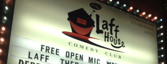 Laff House is one of It's Always Sunny In Philadelphia Itinerary.
