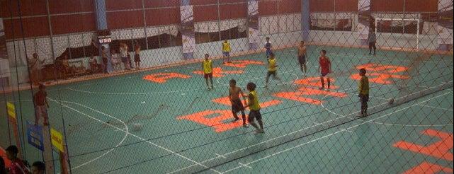 AKA BENPAS Futsal Center is one of Lapangan Futsal.