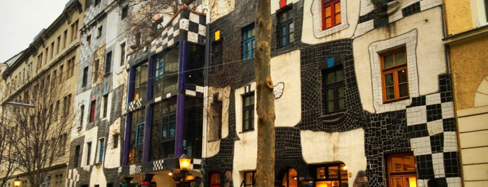 KUNST HAUS WIEN. Museum Hundertwasser is one of Exploring Vienna (Wien).