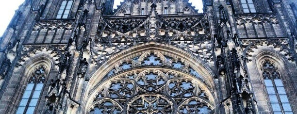St. Vitus Cathedral is one of Must-sees in Prague, Czech Rep.