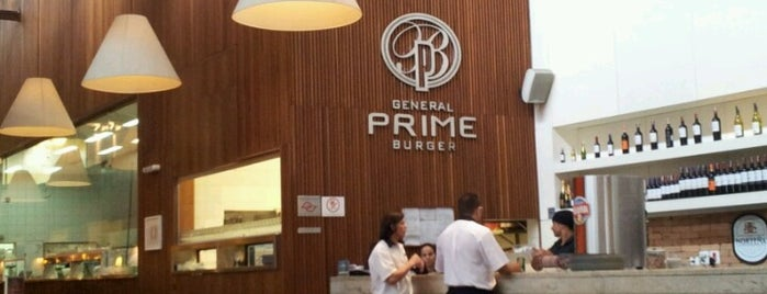 General Prime Burger is one of Restaurantes São Paulo.
