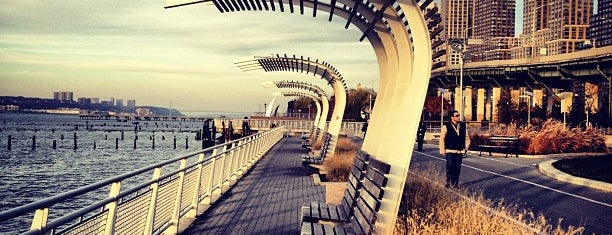 Hudson River Park is one of NYC.