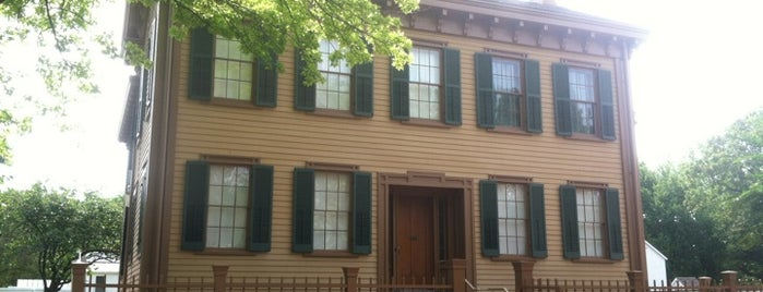 Lincoln Home National Historic Site is one of Springfield, Springfield!!.