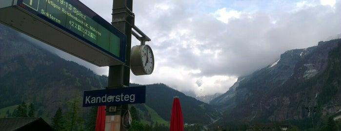 Bahnhof Kandersteg is one of Bahnhöfe Top 200 Schweiz.