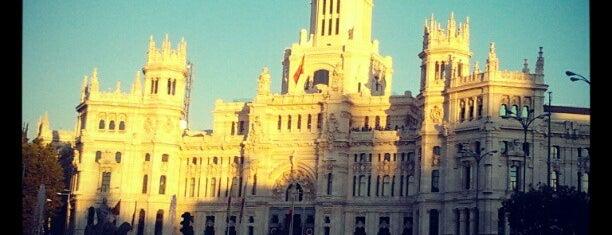Palace of Communication is one of Madrid, baby!.