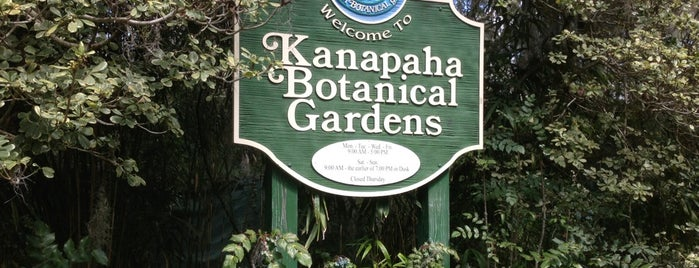 Kanapaha Botanical Gardens is one of Places I frequent.
