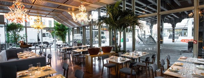 Santina is one of The 38 Essential New York Restaurants, Summer 2016.