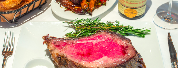 Porter House is one of The 38 Essential New York Restaurants, Summer 2016.