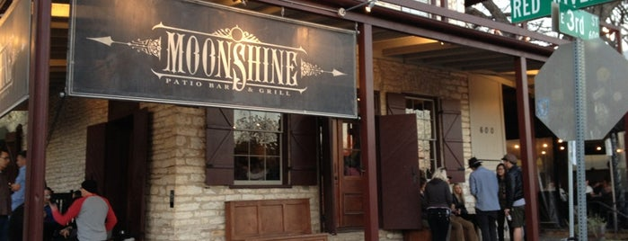 Moonshine Patio Bar & Grill is one of A Weekend in Austin.