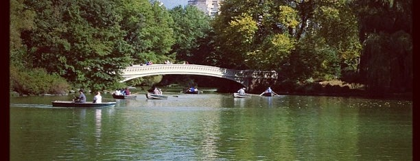 Central Park – The Lake is one of Central Park.