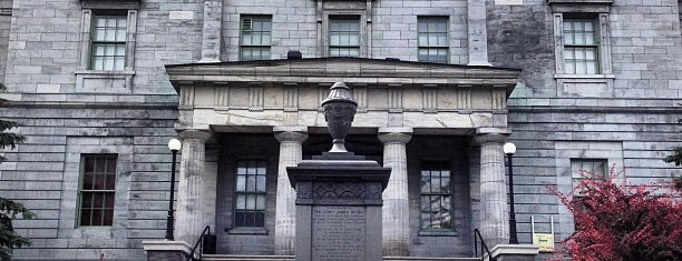 McGill University is one of Montreal, Canada.