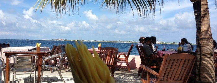 LemonGrass SeaView is one of Cafe's and Restaurants Lists in Male'.