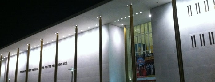The John F. Kennedy Center for the Performing Arts is one of The Arts in DC.
