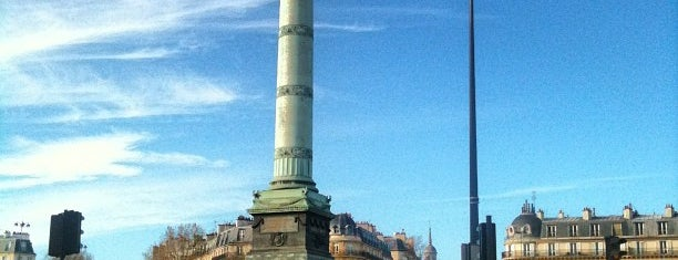 Place de la Bastille is one of First Time in Paris?.