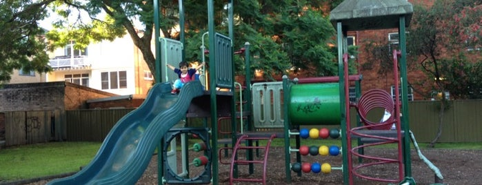 Russell St Playground is one of For the kids.