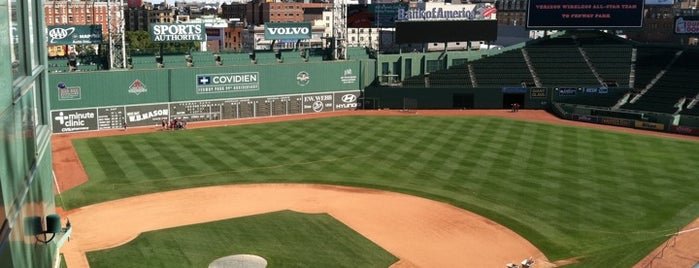 Fenway Park is one of MLB Baseball Stadiums.