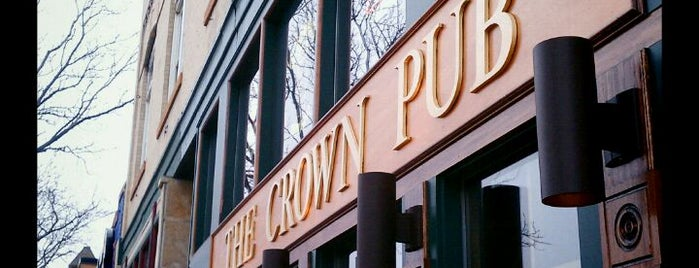 The Crown Pub is one of Top 10 dinner spots in Fort Collins, CO.