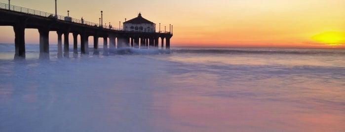 Manhattan Beach Pier is one of I Love L.A..