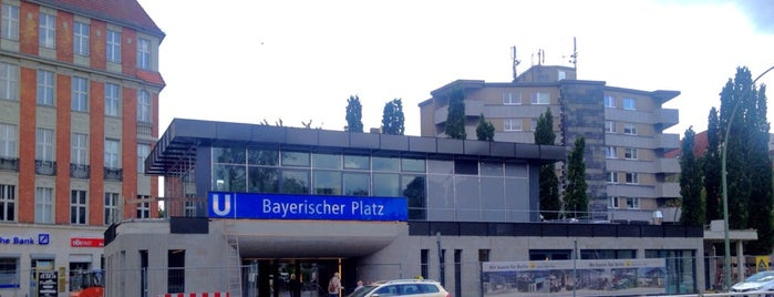 U Bayerischer Platz is one of U-Bahn Berlin.