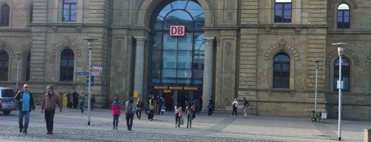 Magdeburg Hauptbahnhof is one of Ausgewählte Bahnhöfe.
