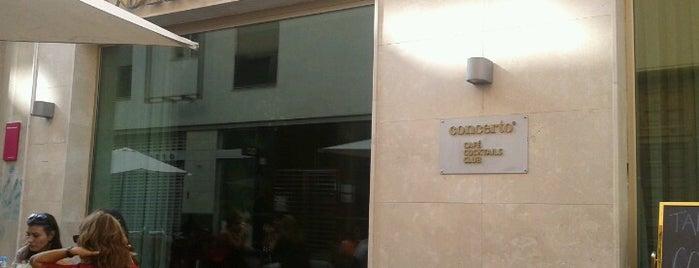 Concerto Club is one of los mejores sitios para comer en Alicante.