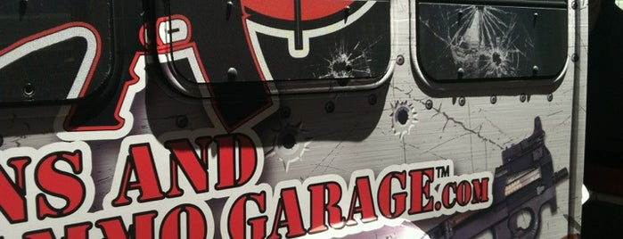 Gun Garage is one of The 15 Best Places for Shirts in Las Vegas.