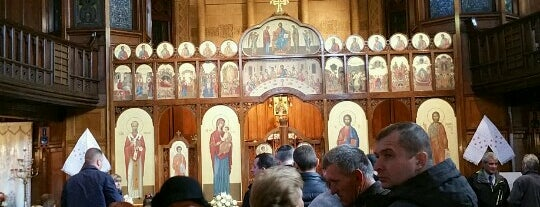 Ukrainian Catholic Cathedral is one of Roman Catholic Cathedrals in England & Wales.