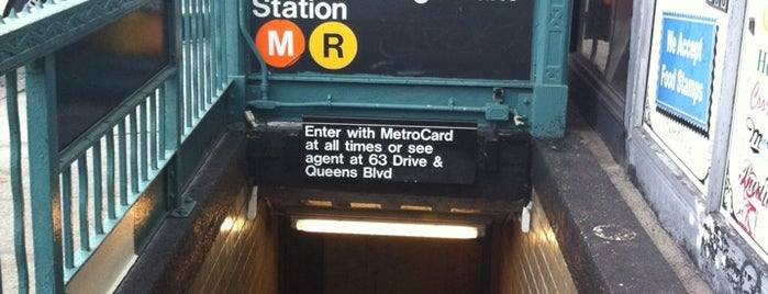 MTA Subway - 63rd Dr/Rego Park (M/R) is one of Frequented.